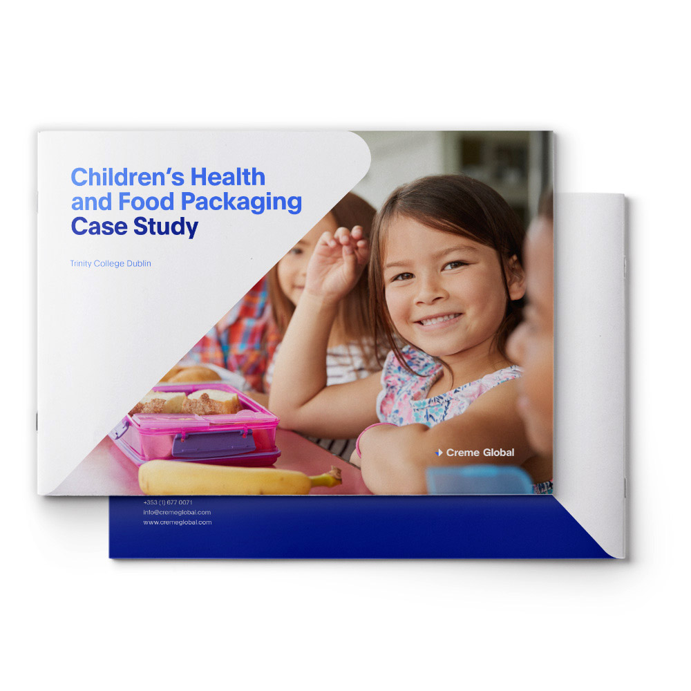 Children's Health and Food Packaging – TCD